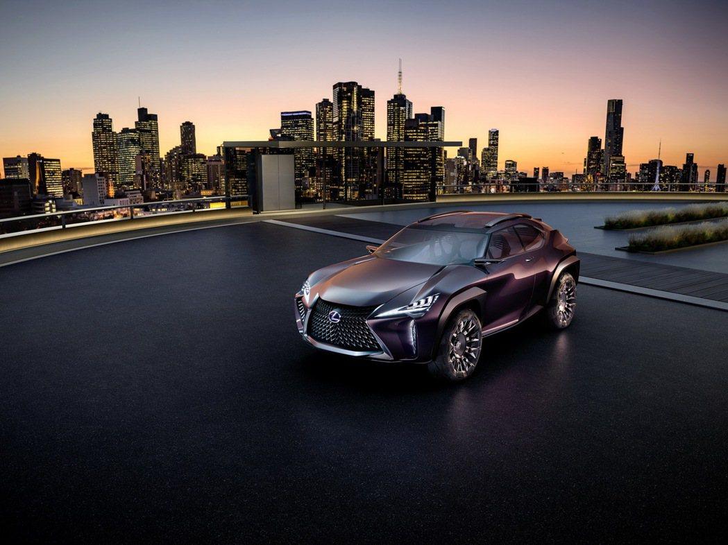 Lexus UX由概念化為現實,即將量產。 摘自Lexus