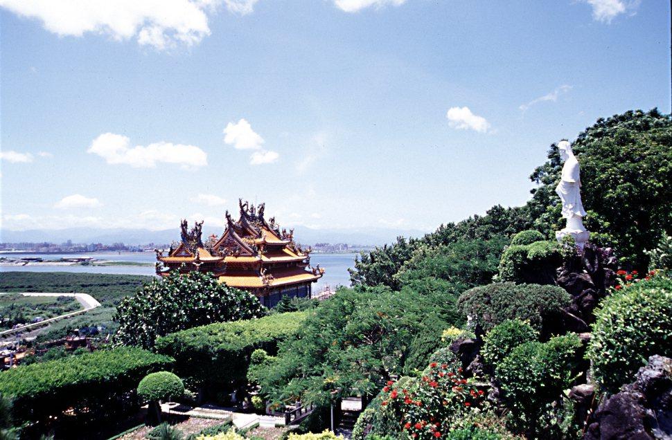 無論在海口、河口,媽祖廟都具體呈現了人類移居與海共生奮鬥的歷程。 圖/作者自攝