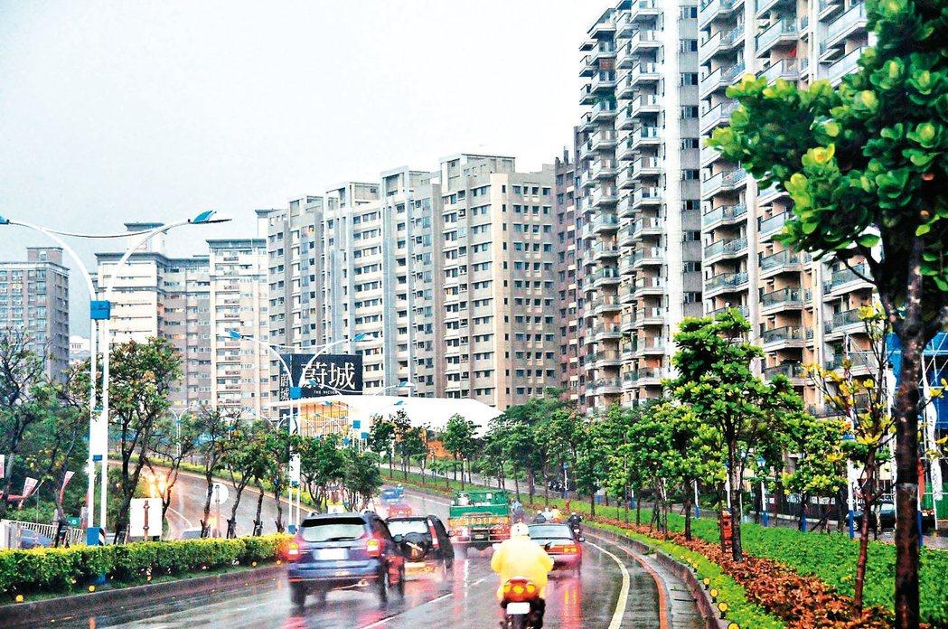 圖為淡海新市鎮。 本報資料照片