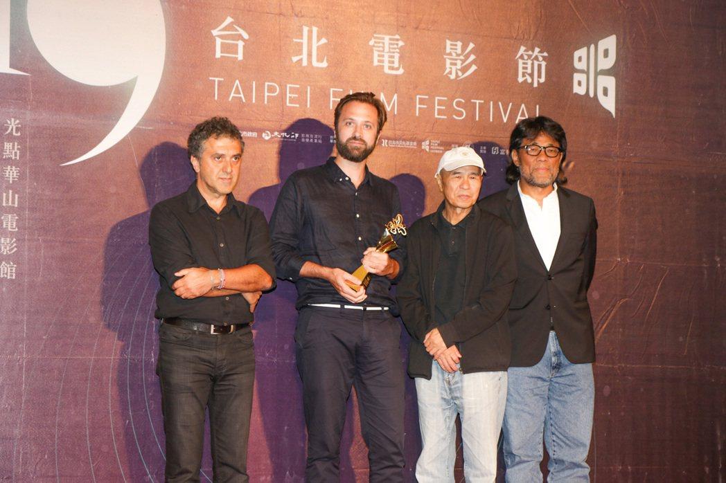 台北電影節「國際新導演競賽」4日晚間在中山堂舉行頒獎典禮,最佳影片為約翰.特倫戈