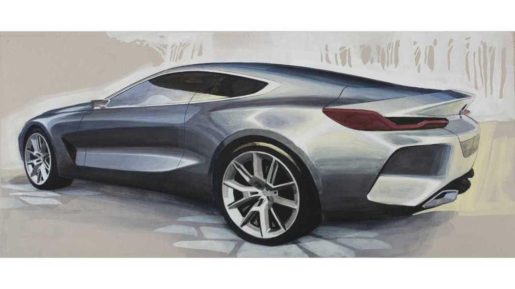 BMW 8 Series經過將近20年後,再次展現它豪華的姿態。 摘自Motor...