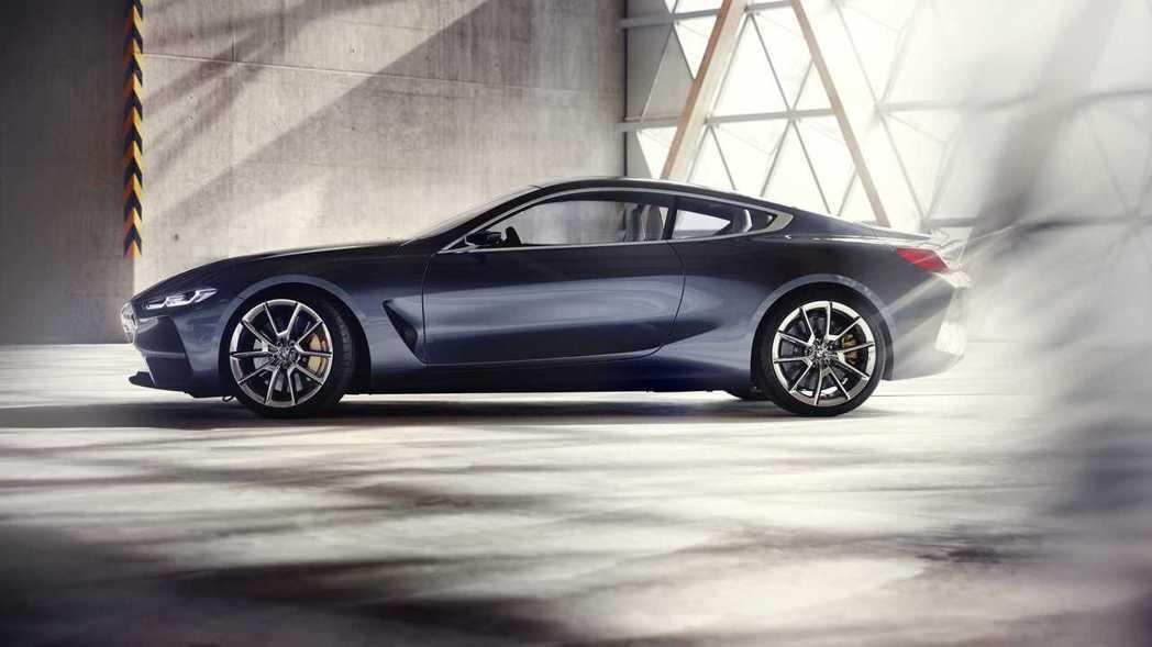 Concept 8並沒有把三廂設計做為基礎。 摘自BMW