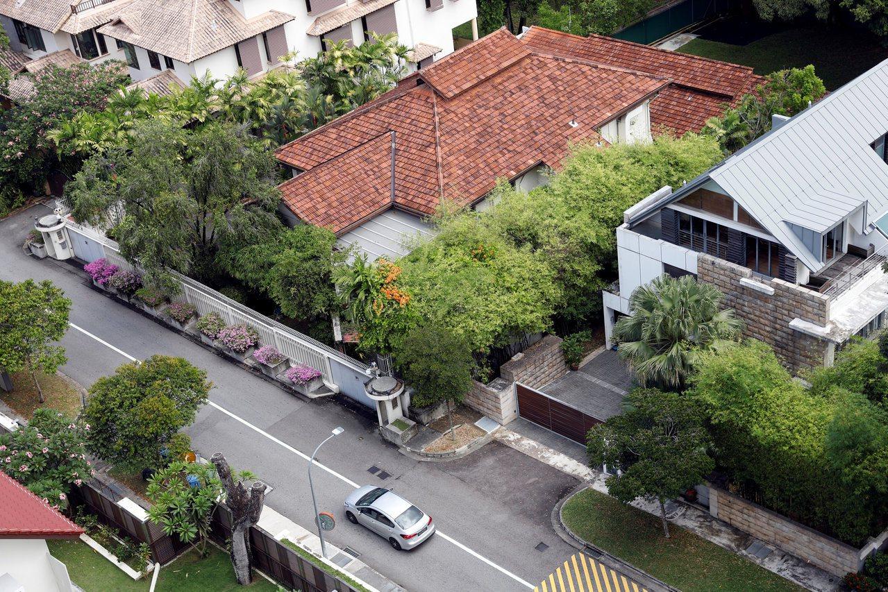 考量到国家安全的因素,欧思礼路38号及其周遭皆有两层楼的限建。
