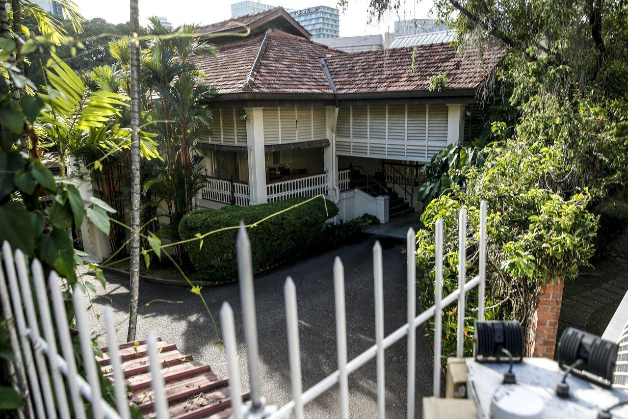 欧思礼路38号位于新加坡中南部的市中心附近,构造为高脚屋,共两层,一楼是地下室,...