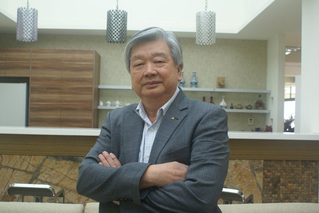 一原金屬董事長林國村。 吳青常/攝影