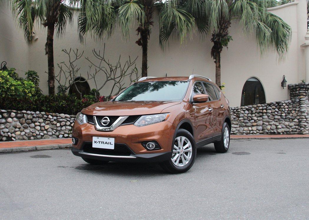圖為Nissan X-Trail。 裕隆日產提供