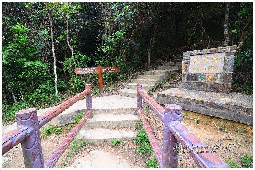 ↑紫崗橋剛好位於中途,是全程重要的休息點。