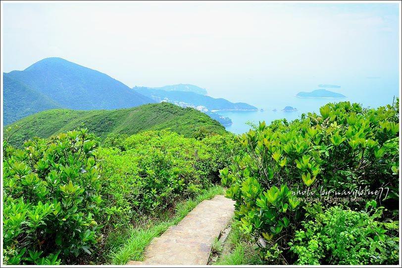 ↑有時還可回眸再回味一下淺水灣的美景。