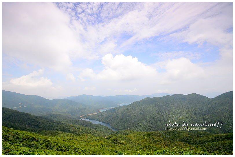 ↑大潭篤水塘收納香港島中部山區的淡水,是香港島最大庫。