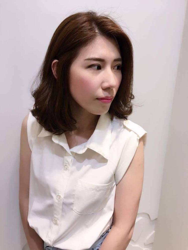 髮型創作/完美髮妝 - 陳海玲。圖/HairMap美髮地圖提供
