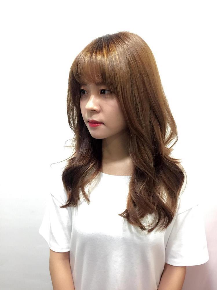 髮型創作/諾亞藝術造型 館前店 - Lily。圖/HairMap美髮地圖提供