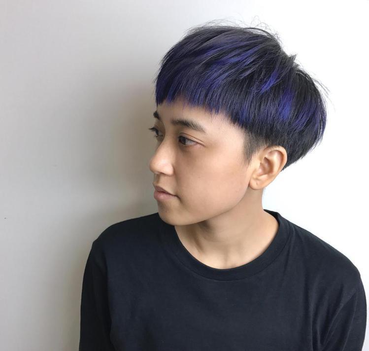 髮型創作/ E3 Hair Salon 民族店 - 緯震(Eric)。圖/Hai...