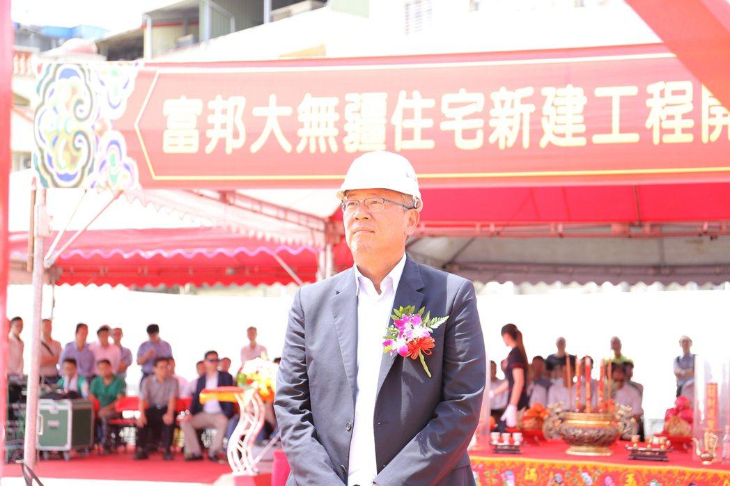 富邦建設董事長李震華說,高雄另一塊在中都溼地的精華地也在整合及規劃,預計明年推案...