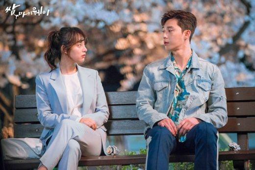 韓劇「三流之路」中朴敘俊和金智媛演技獲得共鳴。圖/摘自naver