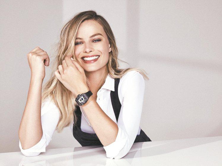 女星瑪格羅比(Margot Robbie)加入RICHARD MILLE成為品牌...