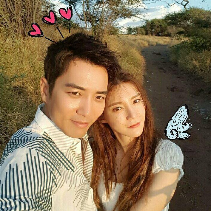 車藝蓮與朱相昱合作「華麗的誘惑」生情,在今年5月完婚。 圖/擷自IG