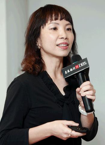 星展銀行集團推廣策略暨傳訊處處長蘇怡文。記者杜建重/攝影