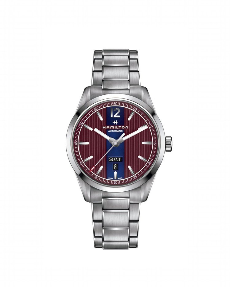 漢米爾頓百老匯系列星期日期自動腕表,搭載H-30自動上鍊機芯,80小時動力儲存,...