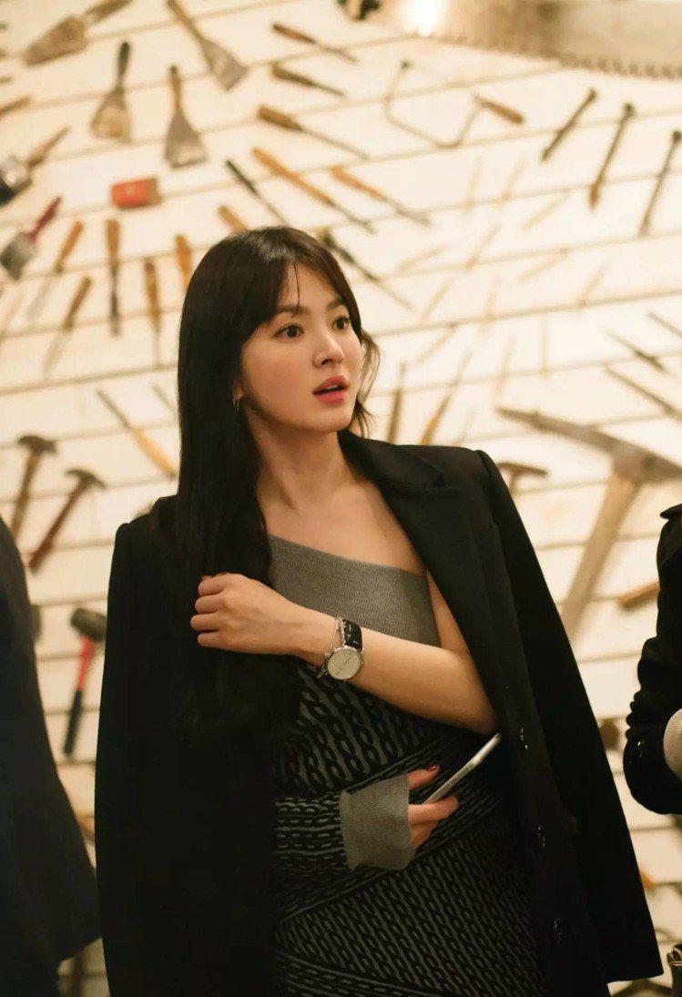 宋慧喬可說是自然感妝容的女神代表。圖/摘自IG:kyo1122