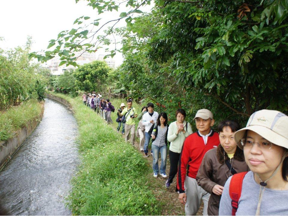 桃園埤塘與水圳網絡綿密,是環境教育重要場域。圖/陳其澎提供