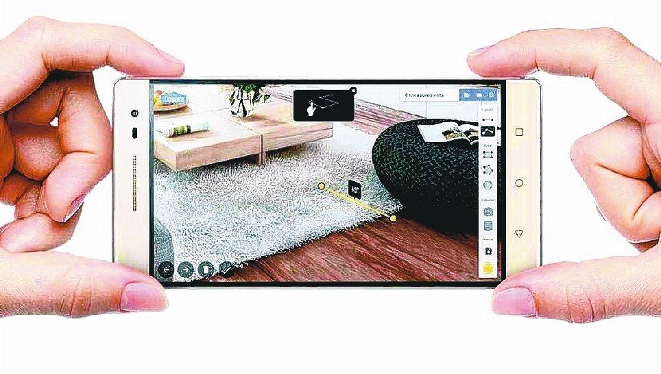 3D感測可望成為手機安全辨識技術主流。 報系資料照