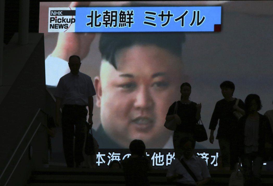 北韓昨射飛彈,時間就選在美國獨立紀念日,據北韓官媒報導,其領導人金正恩表示,這是...