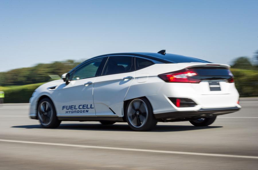 HONDA宣布將會在2018年推出兩款電動車。圖為HONDA Clarity F...