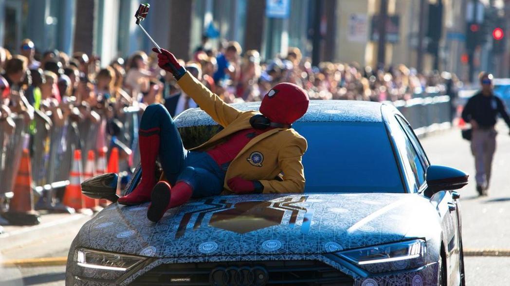 新A8加入全新的蜘蛛人電影,大幅增加了曝光率。 摘自Motor 1