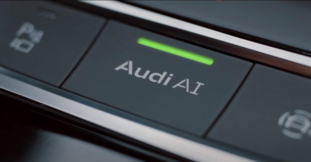全新A7 Sportback同樣搭載Audi AI。 摘自Audi Driver's Test影片