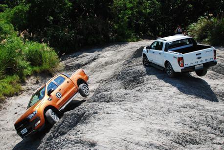 強悍Ford Ranger 強攻「月球表面」