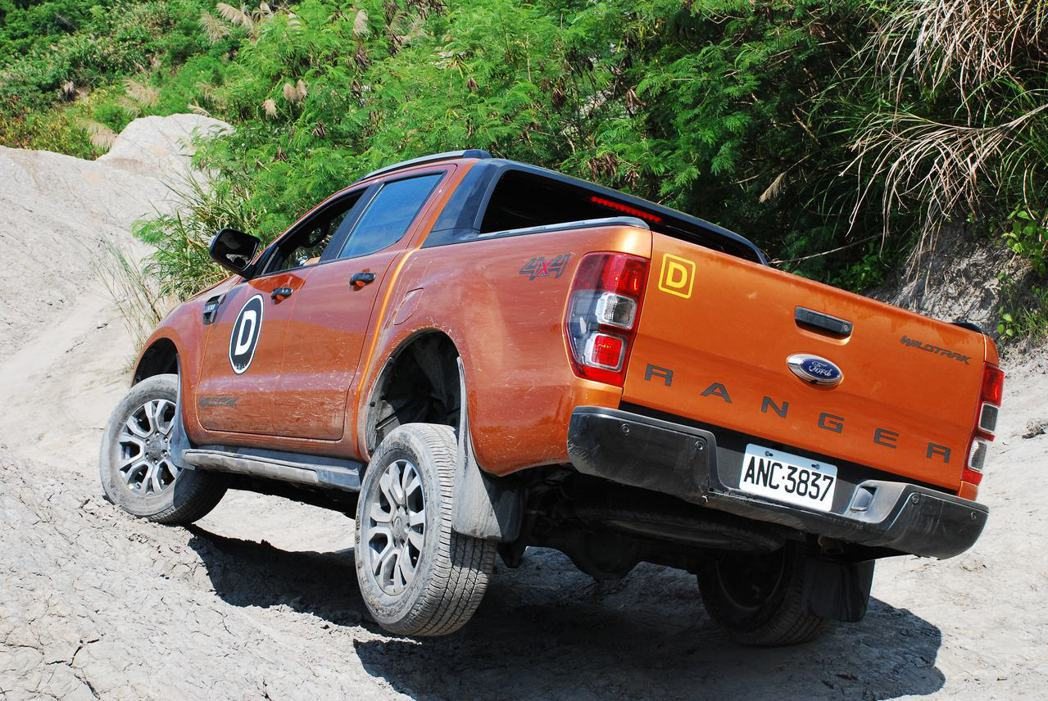 Ford Ranger。記者林昱丞/攝影