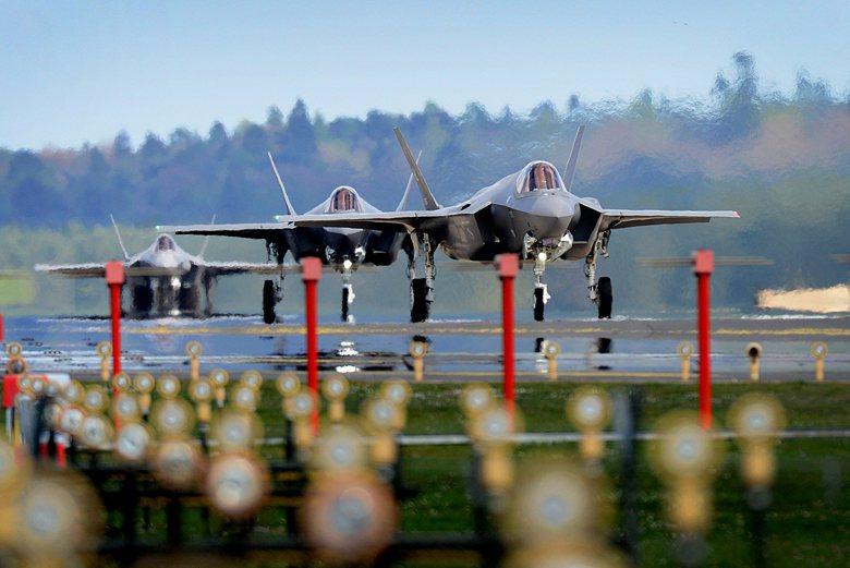 總值14.2億美元對臺軍售案中並不包括F-35。圖為F-35A。 圖/取自美國國...