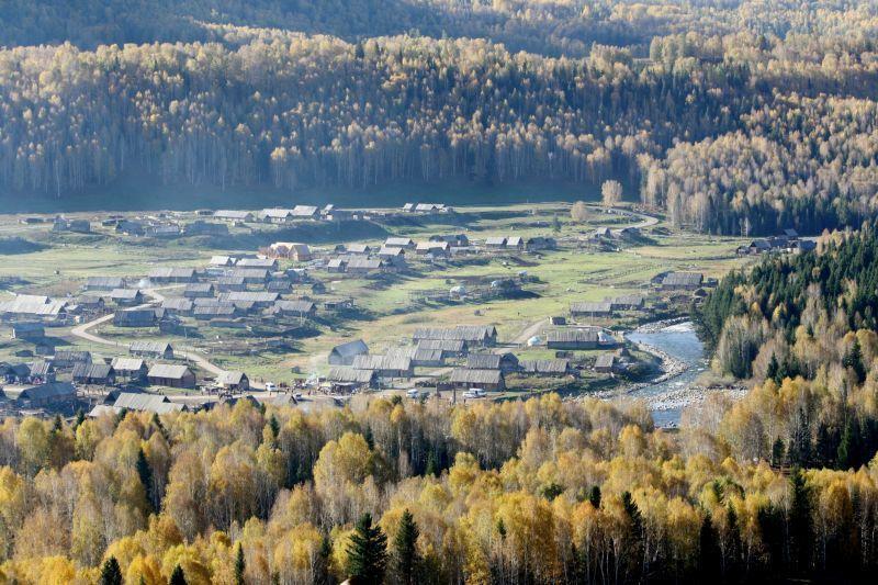 禾木村被形容為新疆版的合掌聚落。(Photo|123RF)