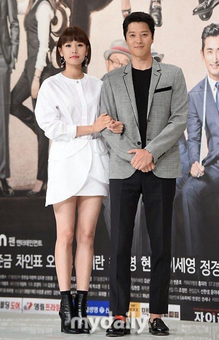 李東健與趙允熙奉子成婚。圖/摘自mydaily
