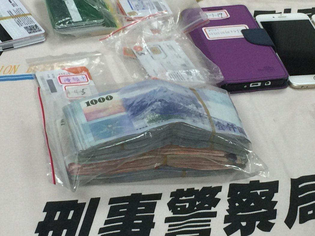 助詐團轉帳洗錢每月3千萬人民幣 5人全收押