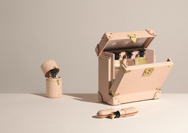 路易威登推出可以妥善置放香水的香水旅行箱。圖/LV提供