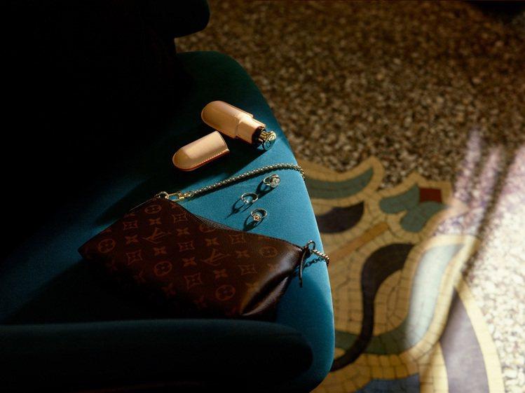 7.5毫升旅行裝香水盒,售價9,700元。圖/LV提供