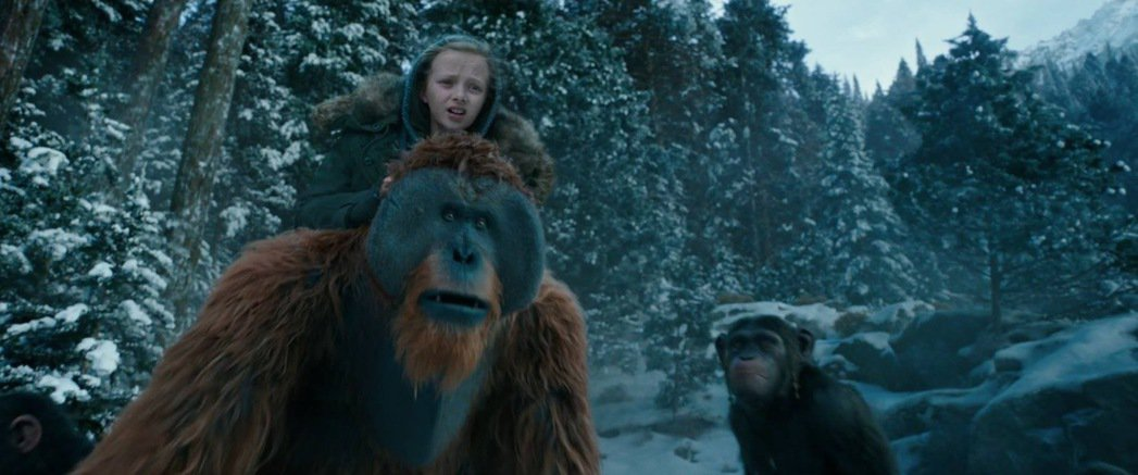 「猩球崛起:終極決戰」還未正式上映,已贏得不少歐美影評人叫好。圖/摘自imdb