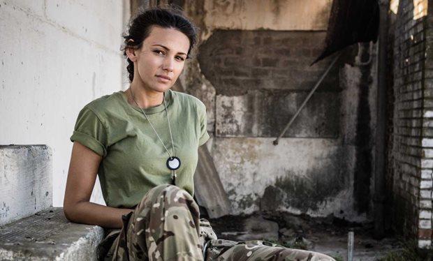 蜜雪兒基根在「Our Girl」第2季演軍醫。圖/摘自Radio Times