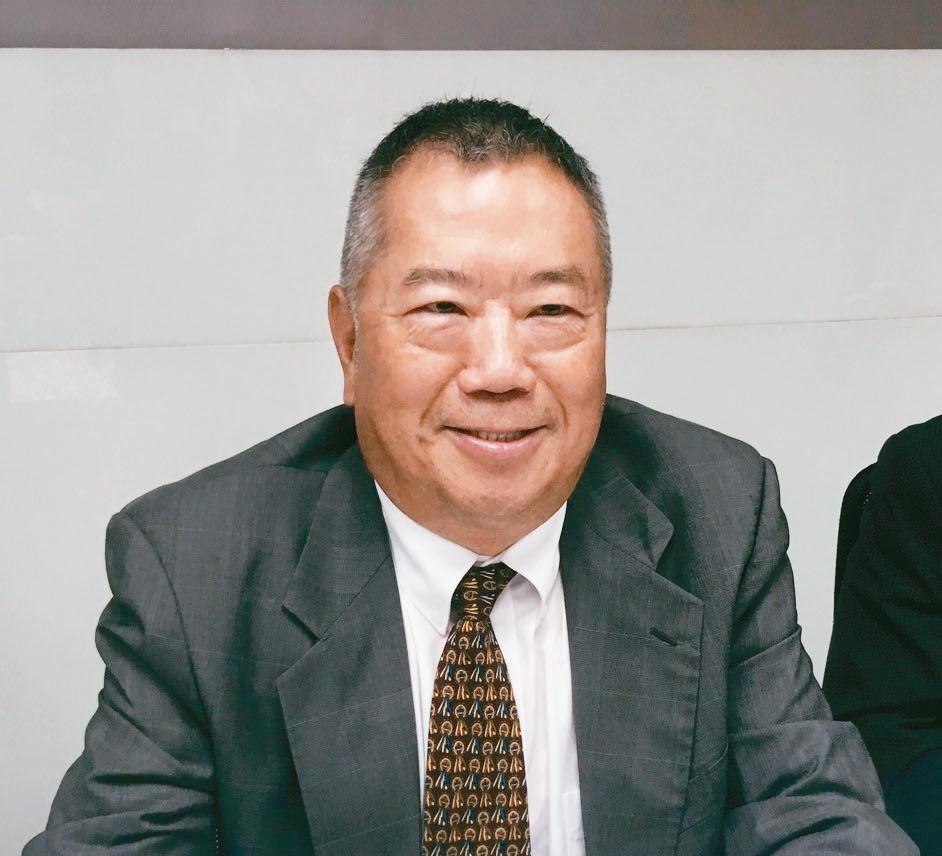 矽格董事長黃興陽。 記者簡永祥/攝影