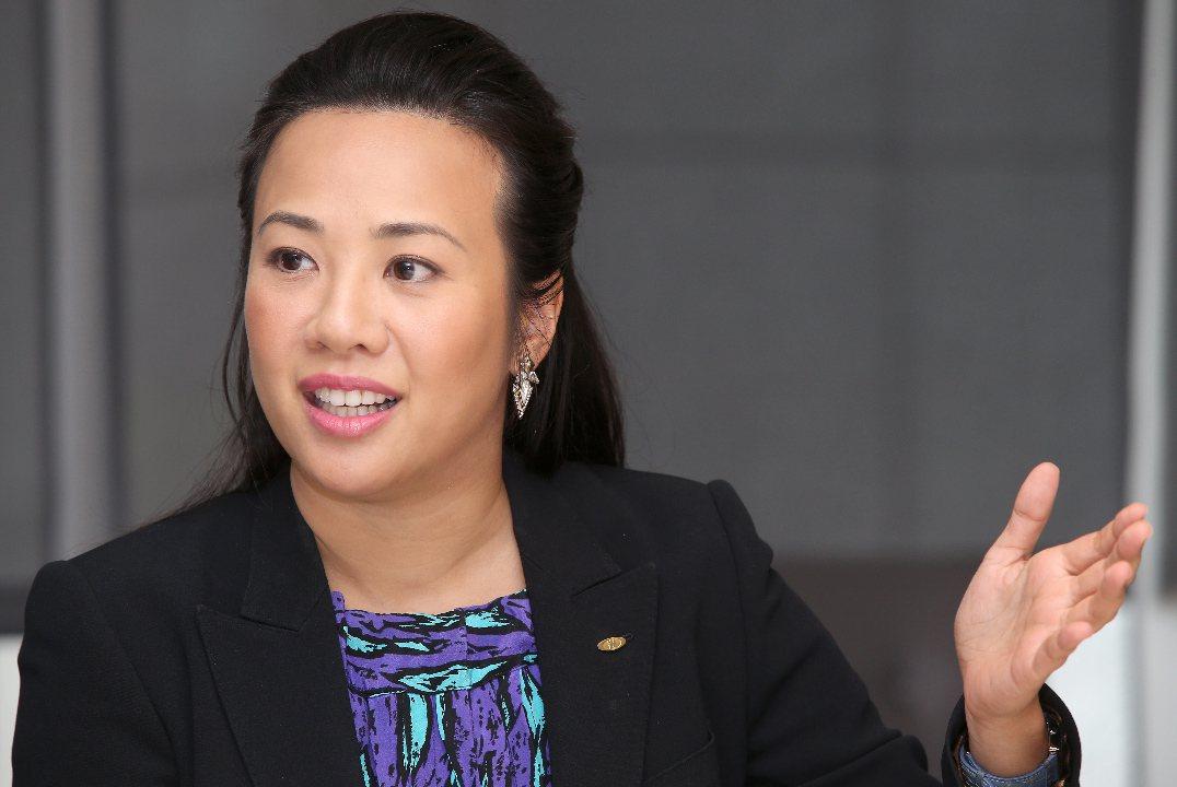 新光金控副總吳欣盈。 聯合報系資料照片/記者高彬原攝影