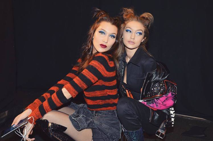 這次巴黎高訂周,Hadid兩姊妹沒有一起工作。圖/擷自instagram