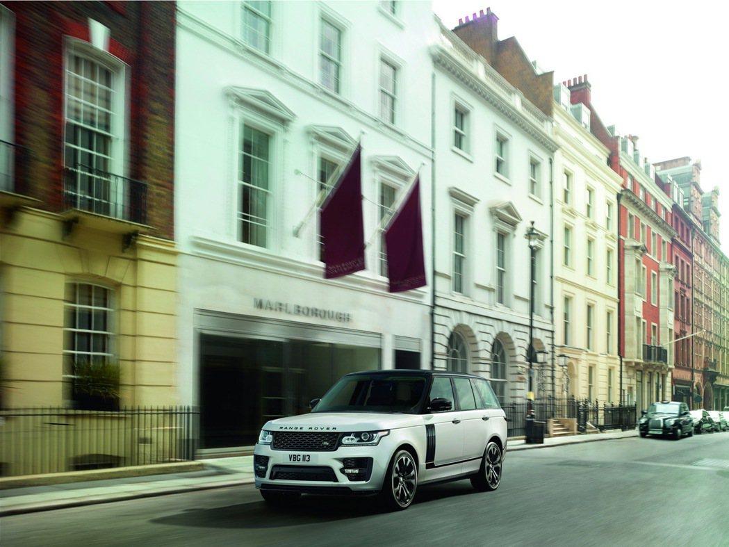 Range Rover。圖/Land Rover提供