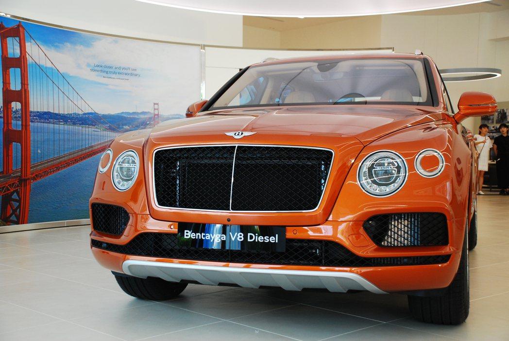 Bentley Bentayga Diesel。記者林昱丞/攝影