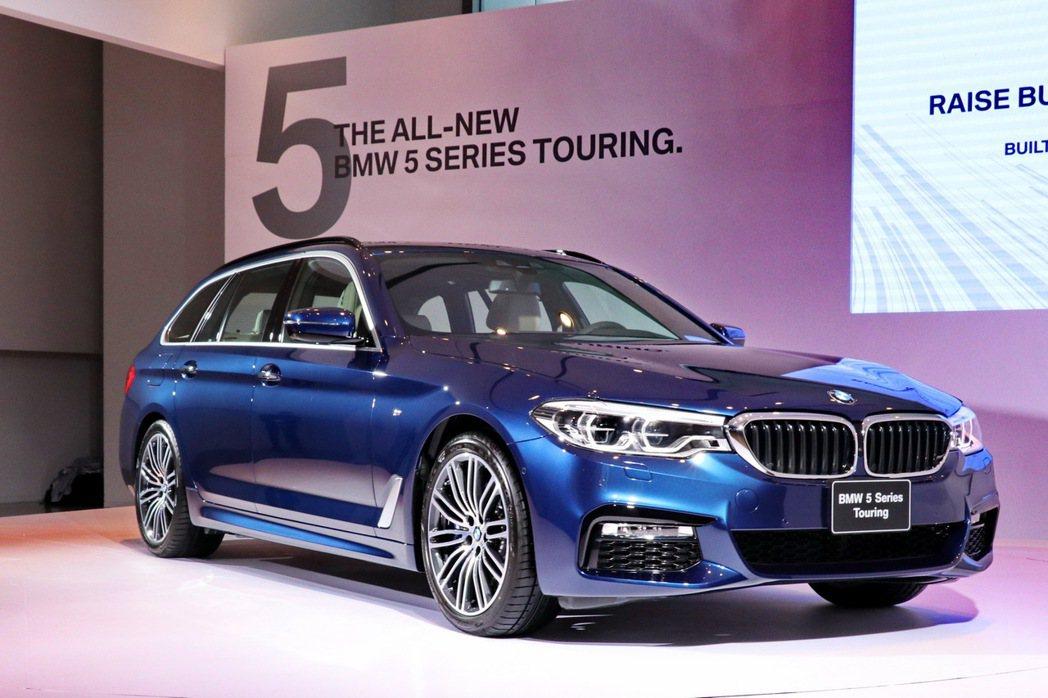 Touring車型似乎不在BMW的電動化版圖內。 記者陳威任/攝影