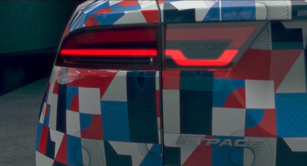 Jaguar E-Pace 將於7/13在英國倫敦發表。 摘自E-Pace測試影...