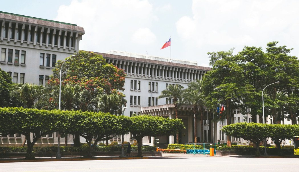 中華民國外交部辦公樓。 記者邱德祥/攝影