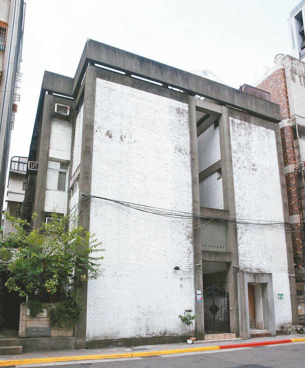 濟南路三段虹廬。 記者邱德祥/攝影
