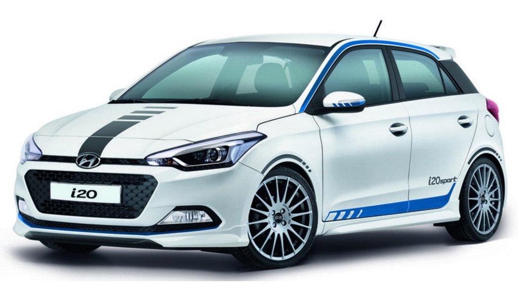 Hyundai 正計劃推出 i20 N,作為對抗 Ford Fiesta ST、VW Polo GTI 與 Toyota Yaris GRNM 等眾家性能掀背級距的武器。 摘自 Hyundai