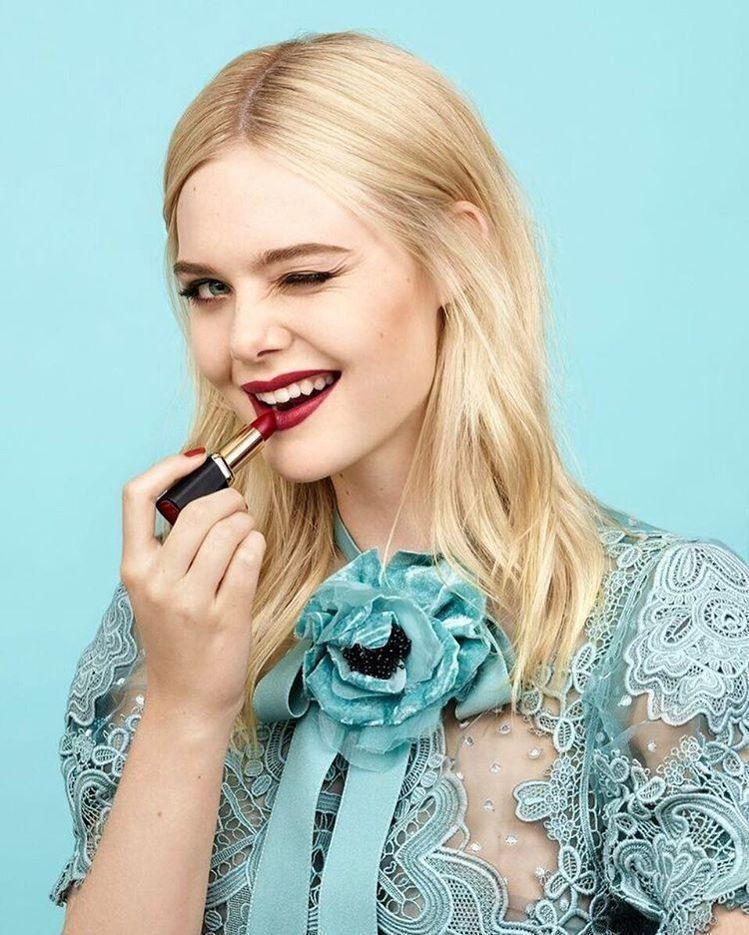 艾兒芬妮今年加入巴黎萊雅(L'Oréal Paris),成為品牌新大使。圖/擷自...